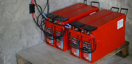 Solarroof batterijen
